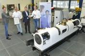 Bosch Rexroth leverde onderscheidende bijdrage aan energie-efficiënte hybride aandrijving