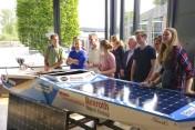 Het team Nostra Navis presenteert het eindresultaat